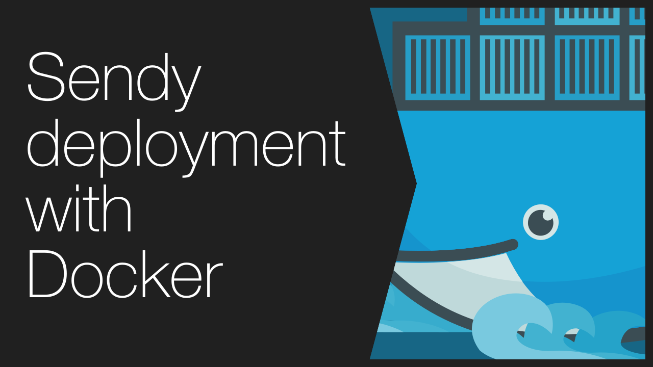 Sendy deployment with Docker